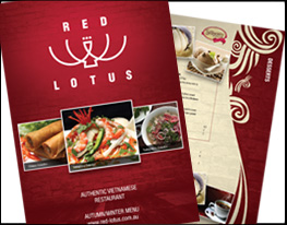 Red Lotus - Brisbane. Graphic and Website Design