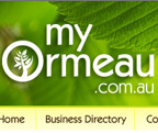 My Ormeau website design