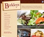 Berkleys on Anne website design and online pre-ordering system - www.berkleys.com.au