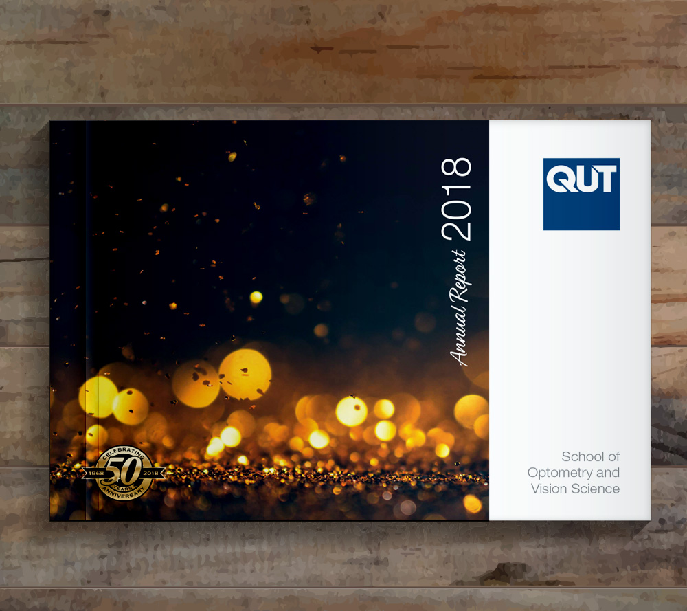 QUT Annual Report Design