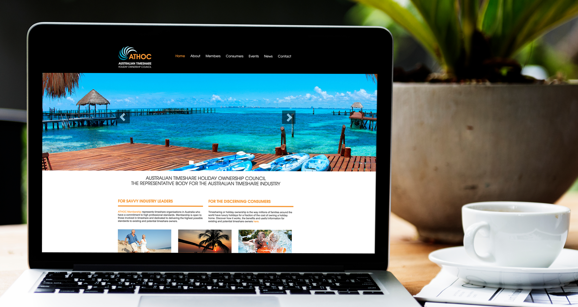 ATHOC Custom Website - athoc.com.au