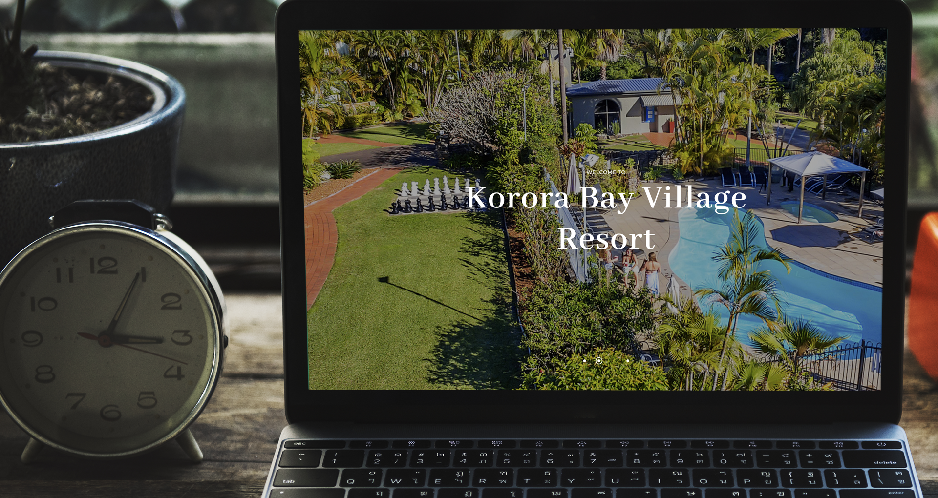Korora Bay Village Resort Custom Website - kororabayvillage.com.au