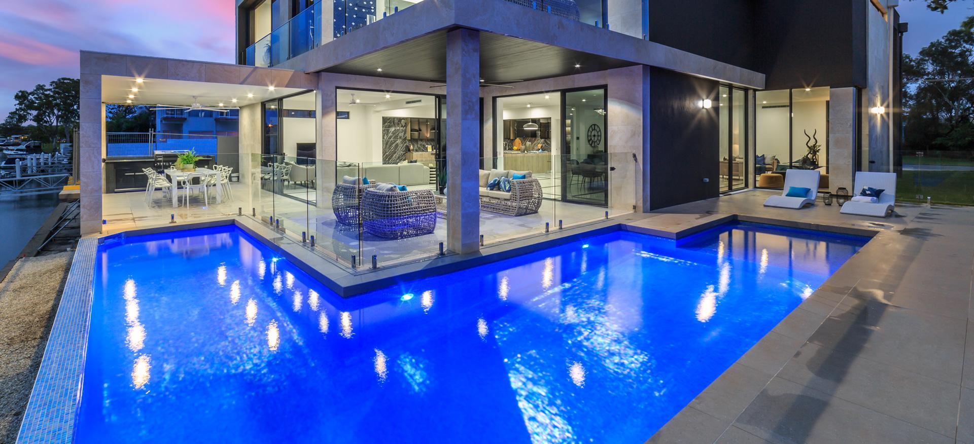 Custom Website Design – L&V Pools Gold Coast