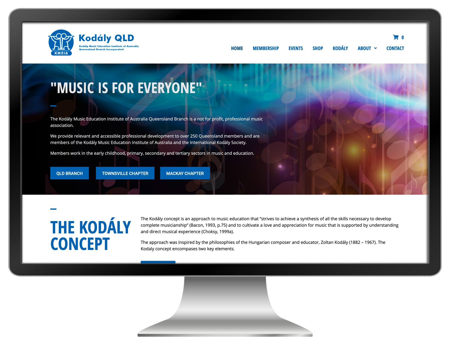 kodaly-web-design